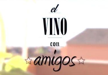 Whatsapp con vino y amigos