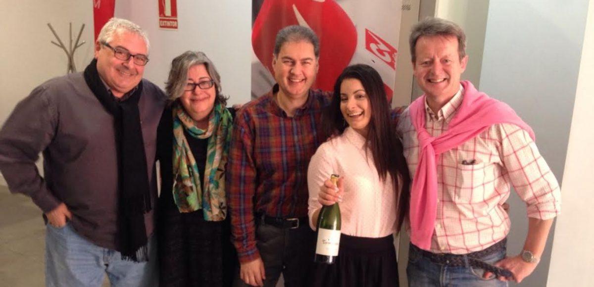 Vino Tormentoso Pinotage - Mark O'Neill en la radio