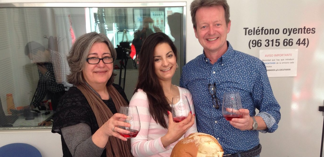 Vinos rosados y panquemao - Mark O'Neill en la radio