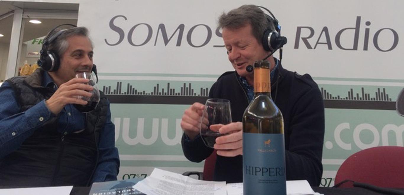 Grandes Pagos de España - Mark O'Neill en la radio