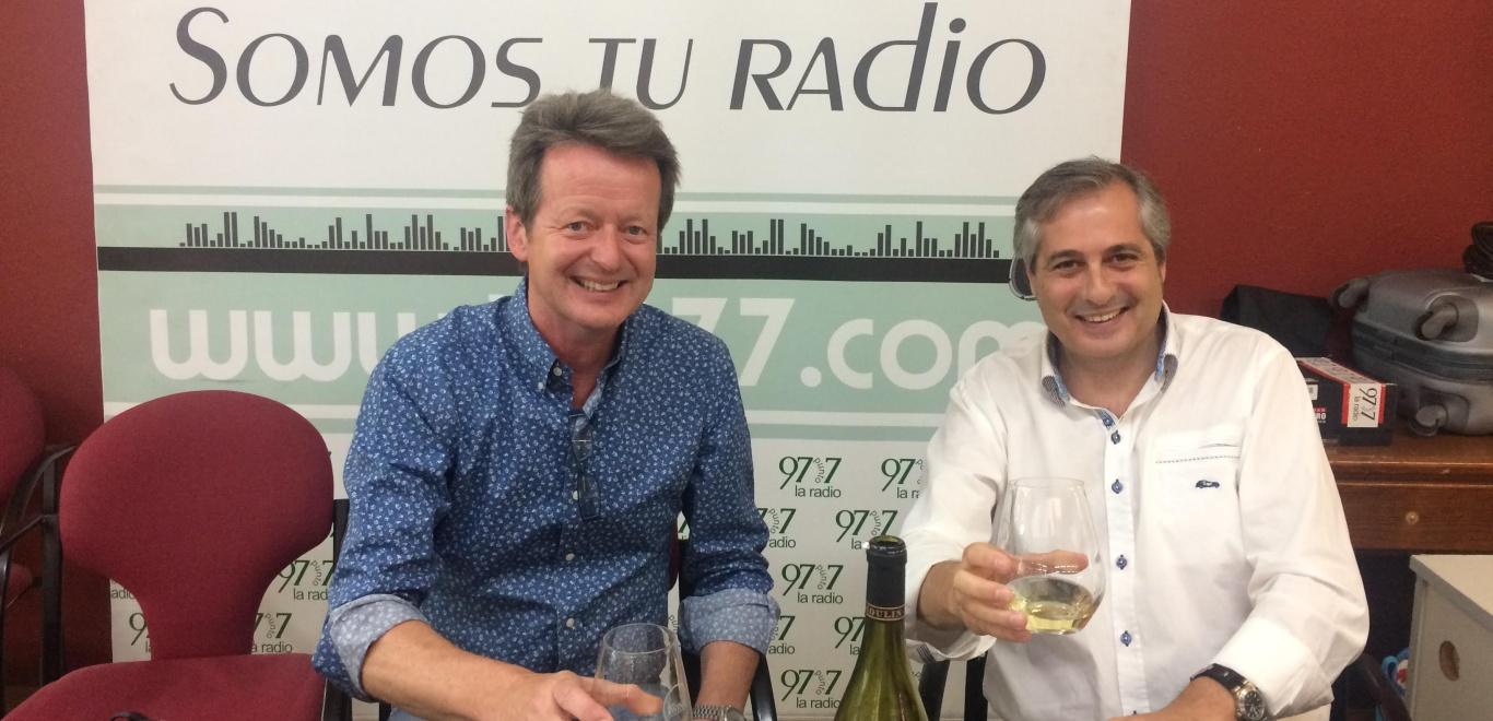 El vino es un alimento - Mark O'Neill en la radio