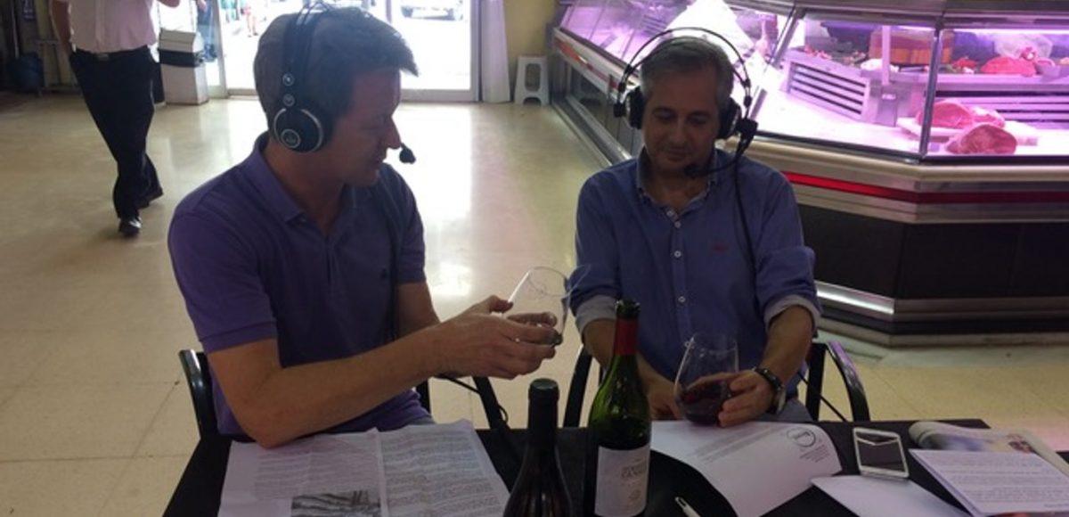Vino Humberto Canale Pinot Noir en el programa de radioValencia Abierta