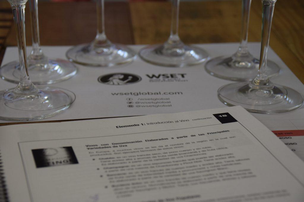 Materiales para los cursos WSET