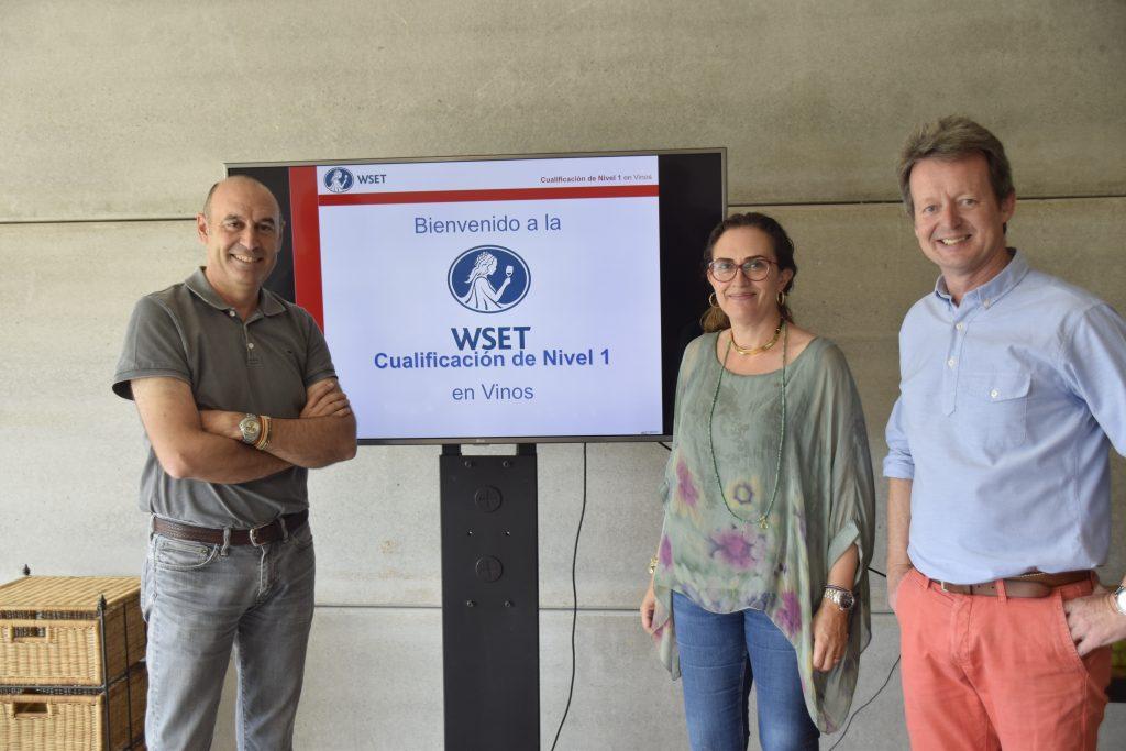 Mar O´Neill impartiendo cursos WSET