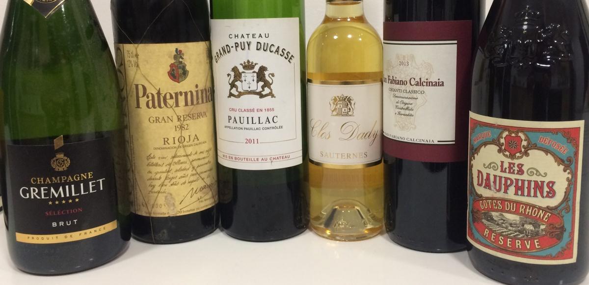 Clásicos Cupages   Blog de vino de Mark O'Neill