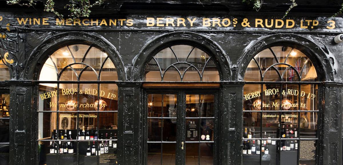 Famosas tiendas de vino en Londres