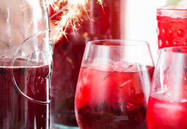 Wine Cocktails for Christmas