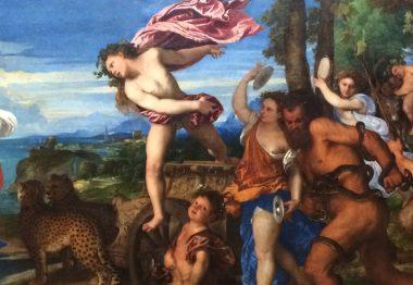 Baco y Ariadna, el Vino y el Arte