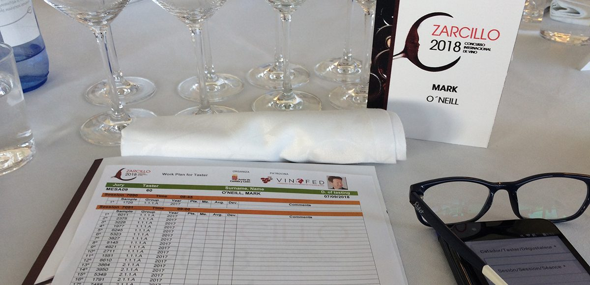 Judging in Wine Competitions