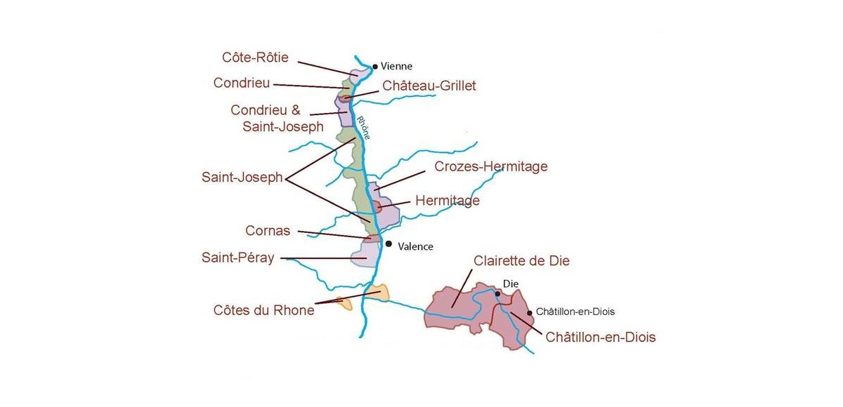 Discover the wines of Northern Rhône
