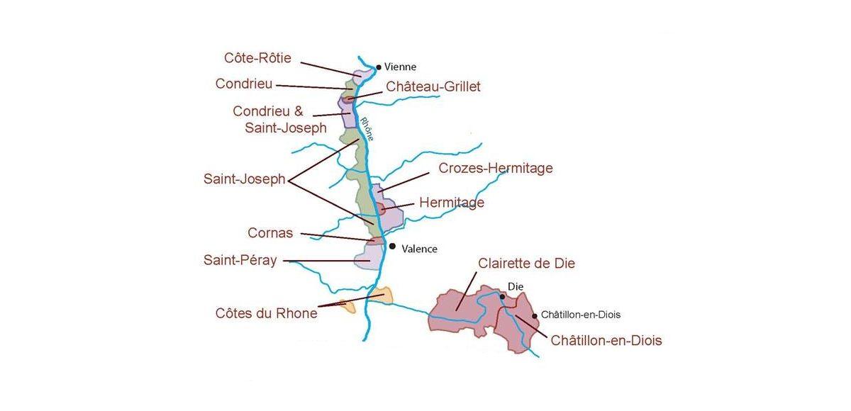 Descubrir los vinos del norte del Ródano