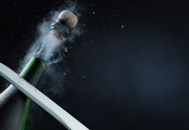 How to Safely Open Champagne