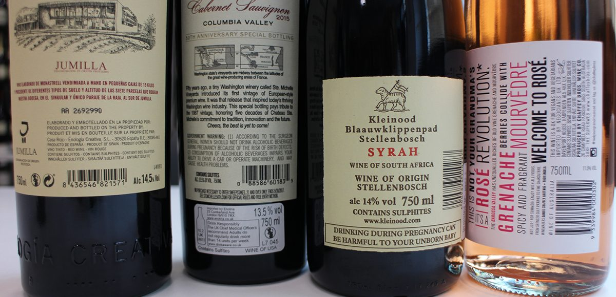 Sulphites in Wine