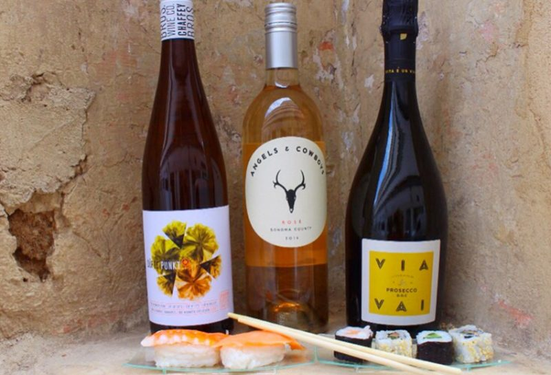 Which Wines with Sushi?